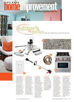 Editor's Picks / New and Notable Home Improvement Products