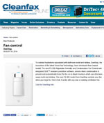 New Products: Fan Control