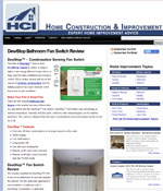 DewStop Bathroom Fan Switch Review from HCI
