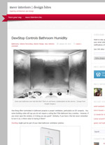 DewStop Controls Bathroom Humidity