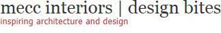 MeCC Interiors | Design Bites: Inspiring Architecture and Design
