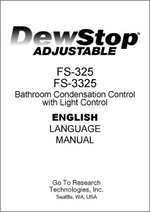 FS-325 Product Manual